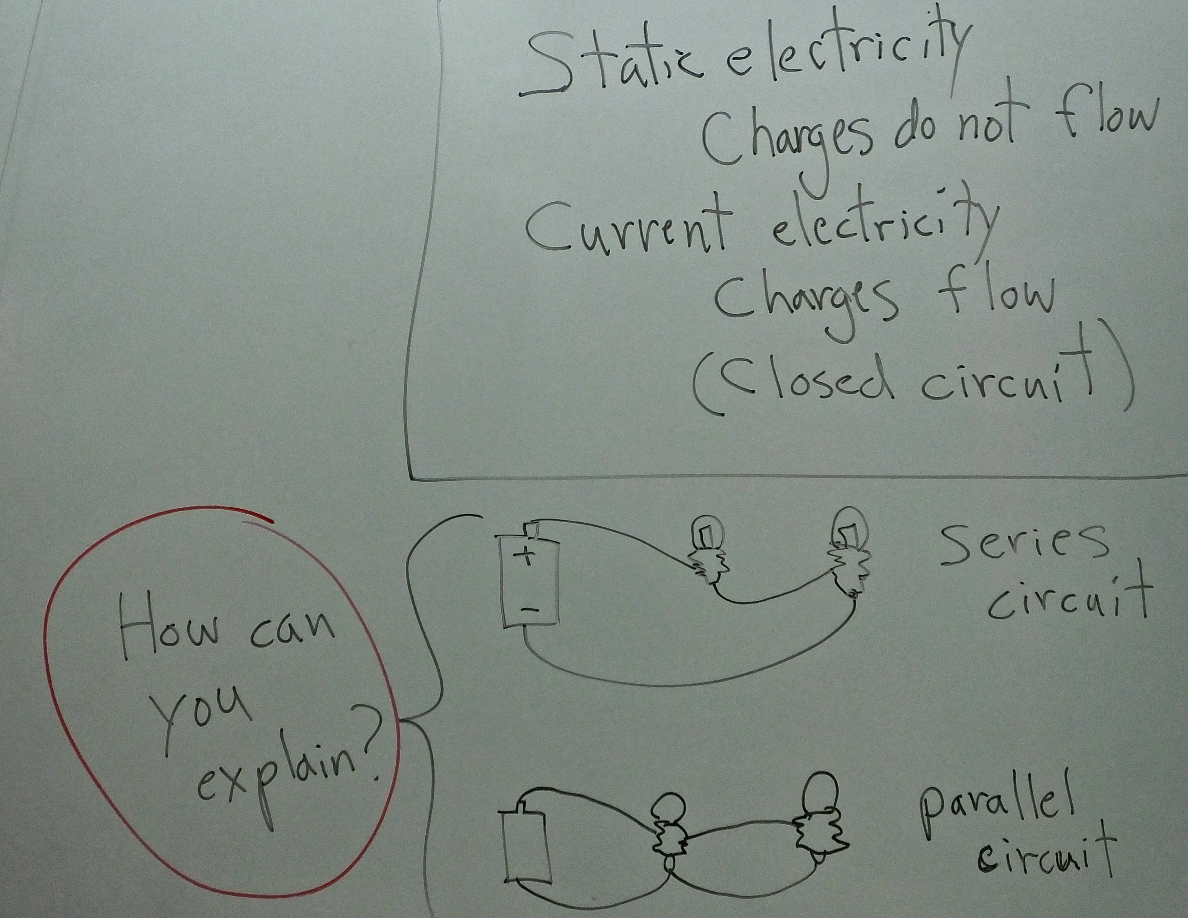 6 May Science 7 Puzzle Of Two Circuitssummary Force And Energy Describe A Series Circuit Build The Following Circuits First Use Identical Bulbs Explain How They Are Same Different